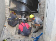 Montaža pužne pumpe